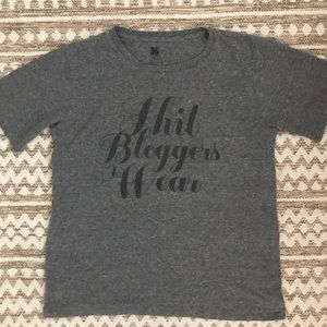 """Perfect condition """"Shit Bloggers Wear"""" tee"""